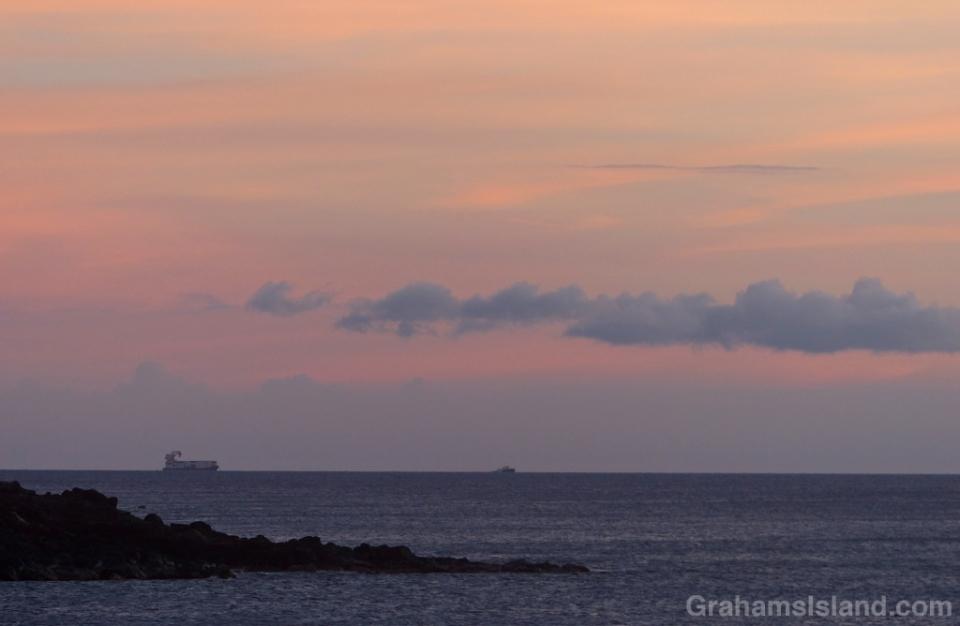Inter-island barge