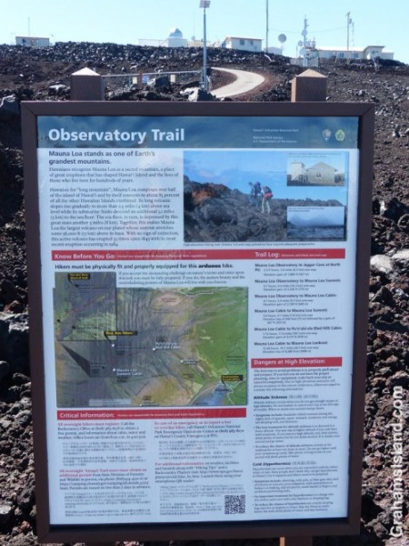 Mauna Loa Notice