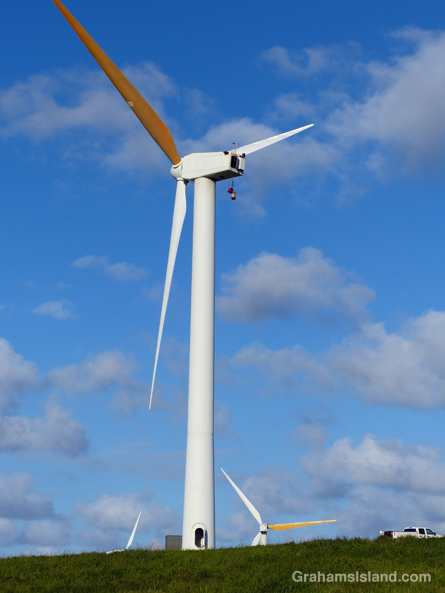 Wind turbine at Hawi Wind Farm