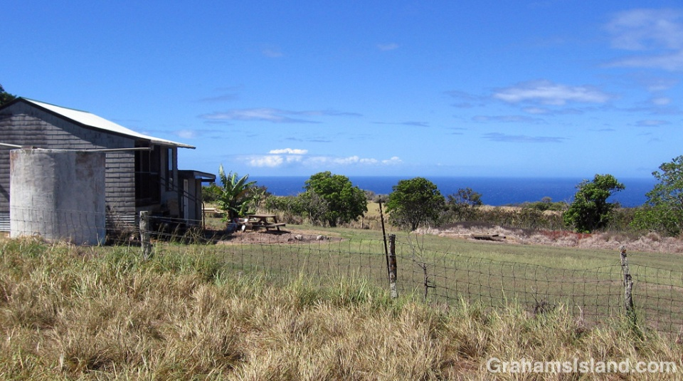 An old farm cottage on the Big Island.