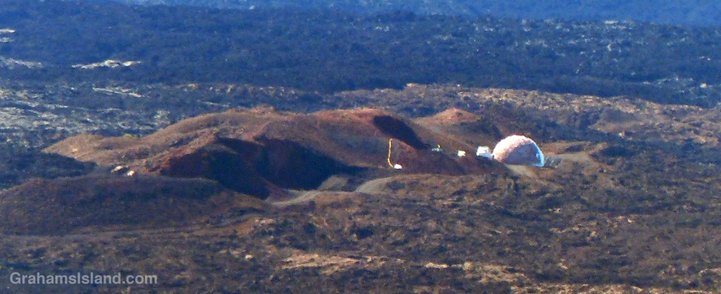 THe site of the Mars simulation mission site on the Big Island of Hawaii