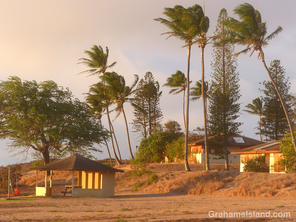 The old coastguard station in North Kohala.