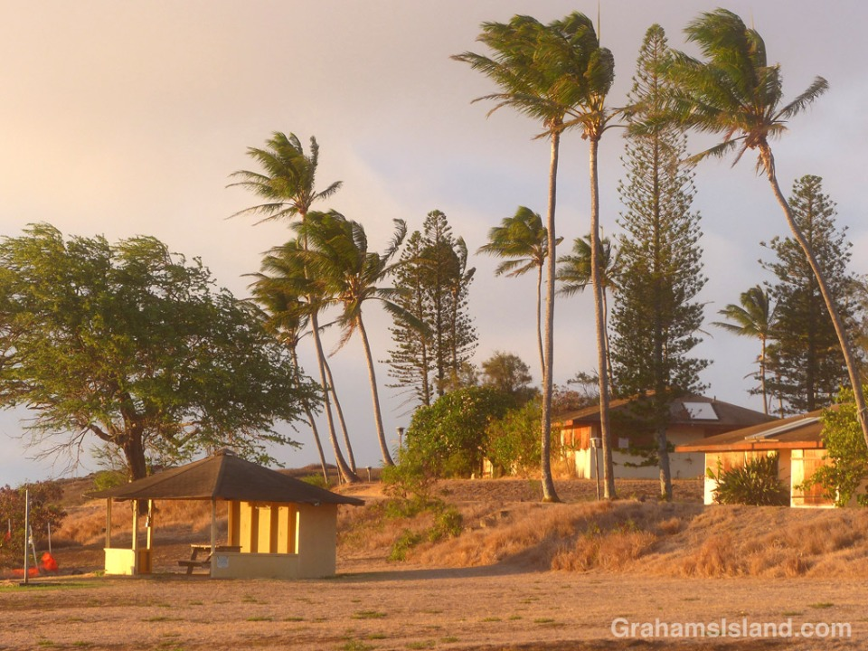 The old coastguard station in North Kohala.