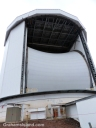 The James Clerk Maxwell Telescope on Mauna Kea.