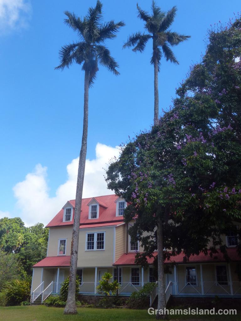 One of the old Kohala Girls School buildings.