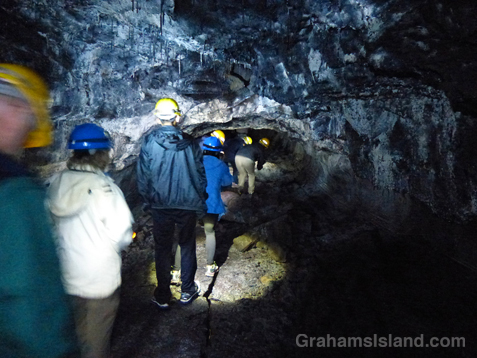 A low section of Puapo'o lava tube