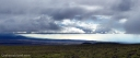 The late afternoon sky from old Saddle Road looking down toward the South Kohala coast.
