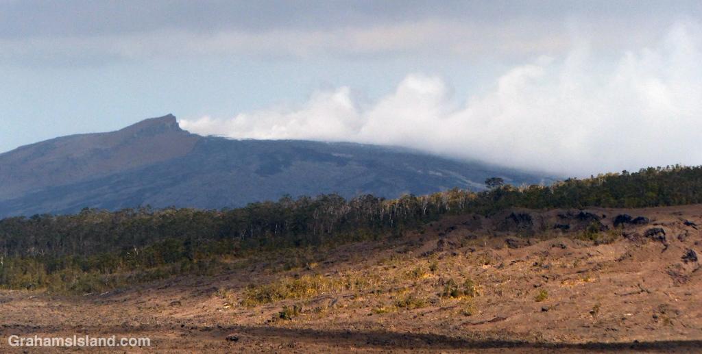 Pu'u O'o vent on Kilauea Volcano