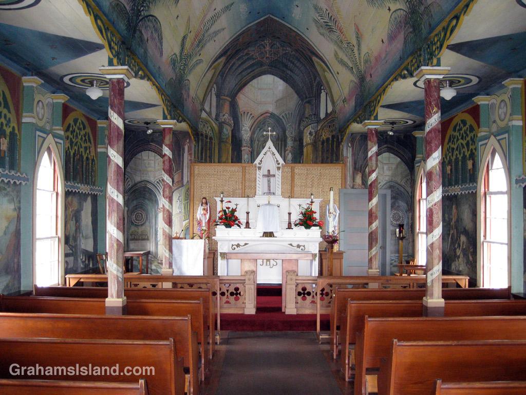 The Painted Church at Honaunau