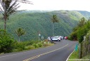 The end of Highway 270 at Pololu Lookout.