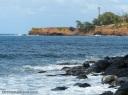 The new Kauhola Point Lighthouse on the north Kohala coast.