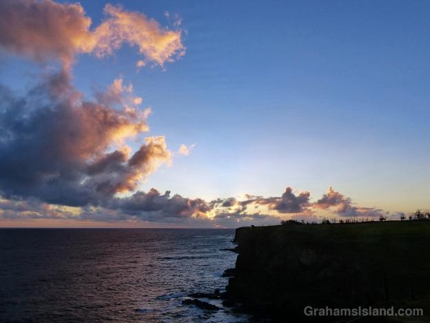 Sunrise at Upolu on the Big Island of Hawaii