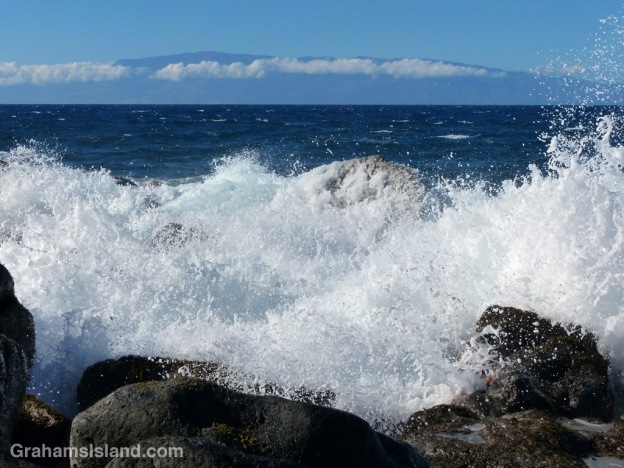 A view of Maui from North Kohala.