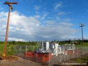 A temporary substation is installed while work is done on the Big Island of Hawaii