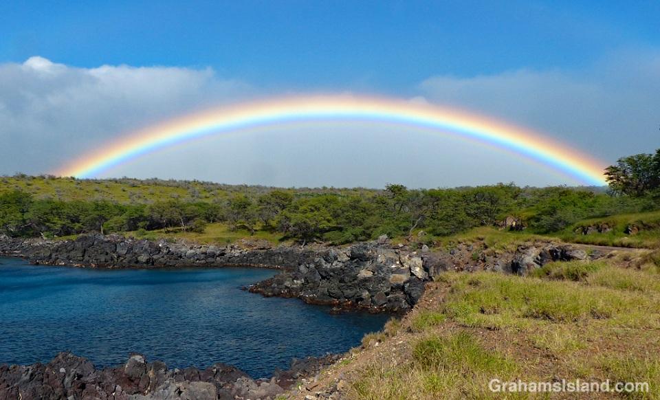 Rainbow off North Kohala