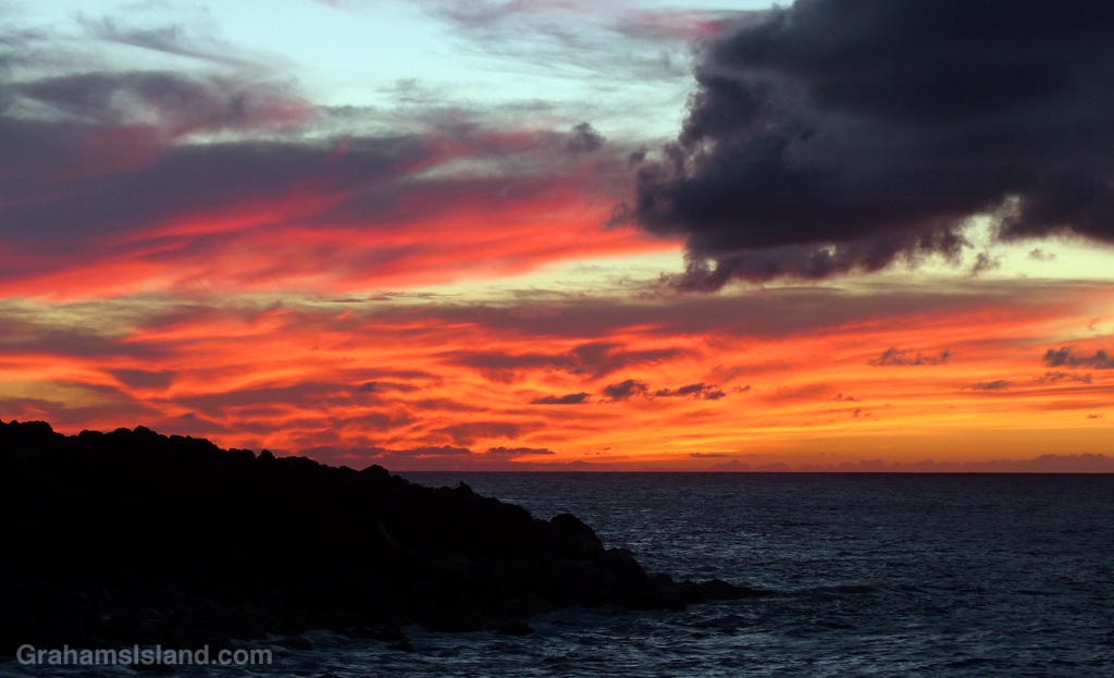Sunset from Upolu Point on the Big Island of Hawaii