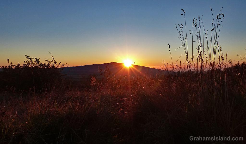 Hualali Sunset