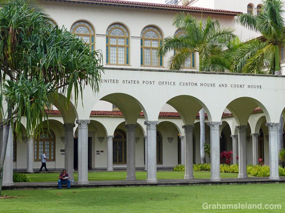 Post Office Building Honolulu