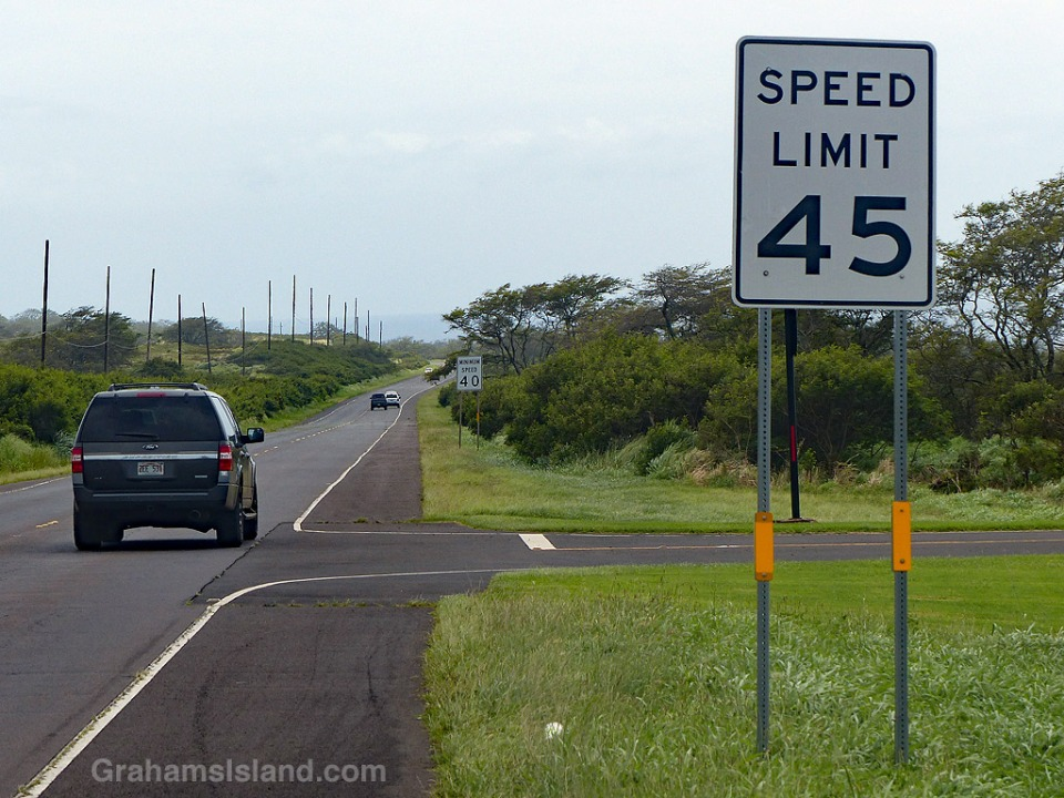 Signs-Speed limit