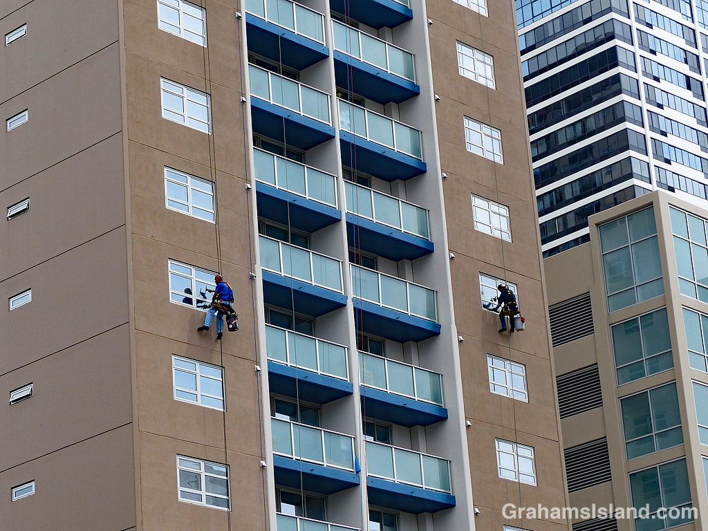 Window cleaners Honolulu