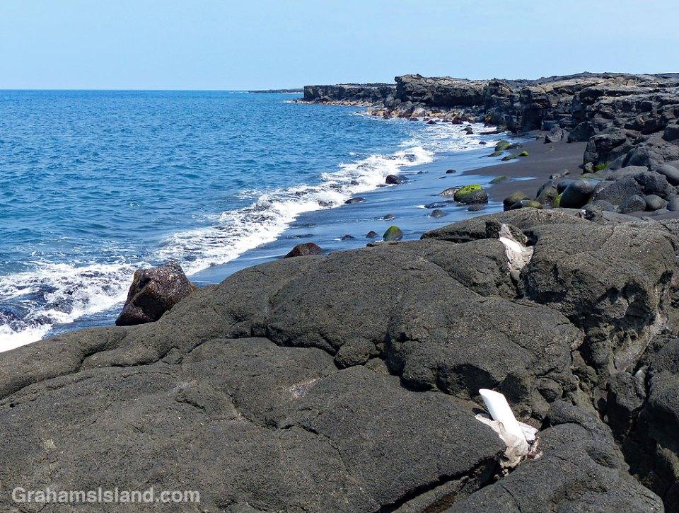 Fishing pole holders Kona coast