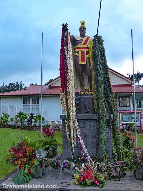 King Kamehameha statue Kapaau