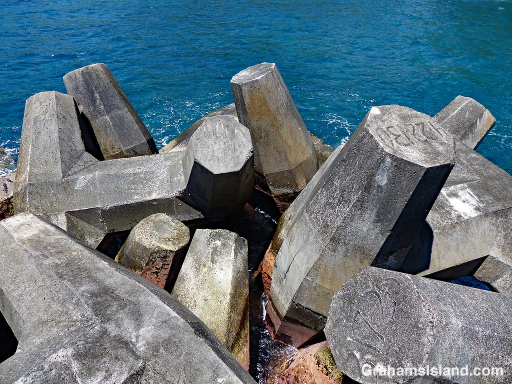 Abstracts-Breakwater concrete