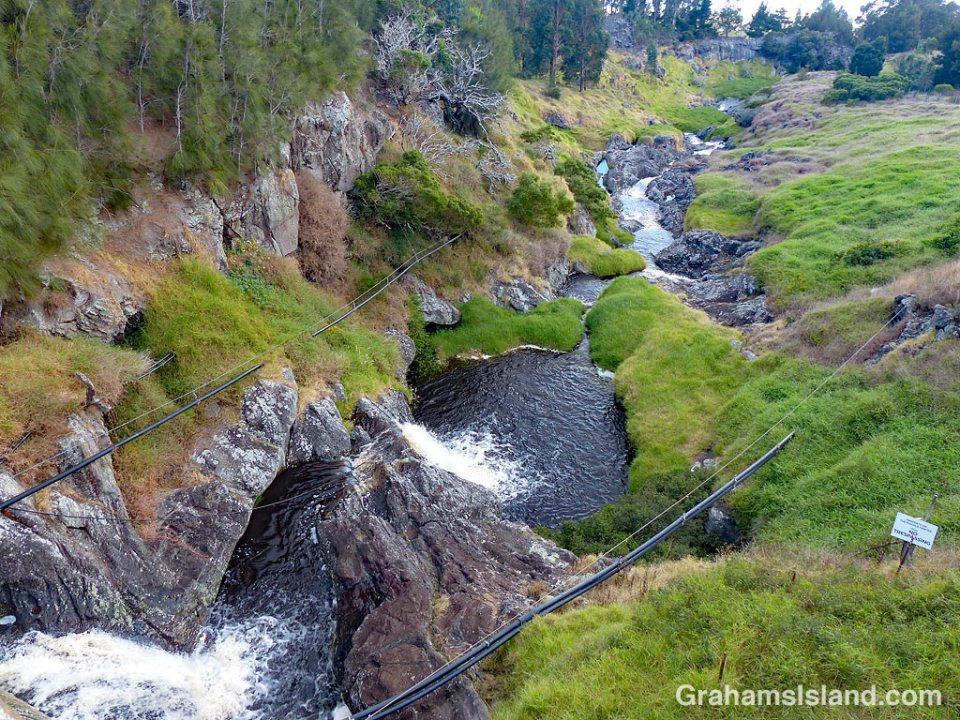 Mountain Road stream
