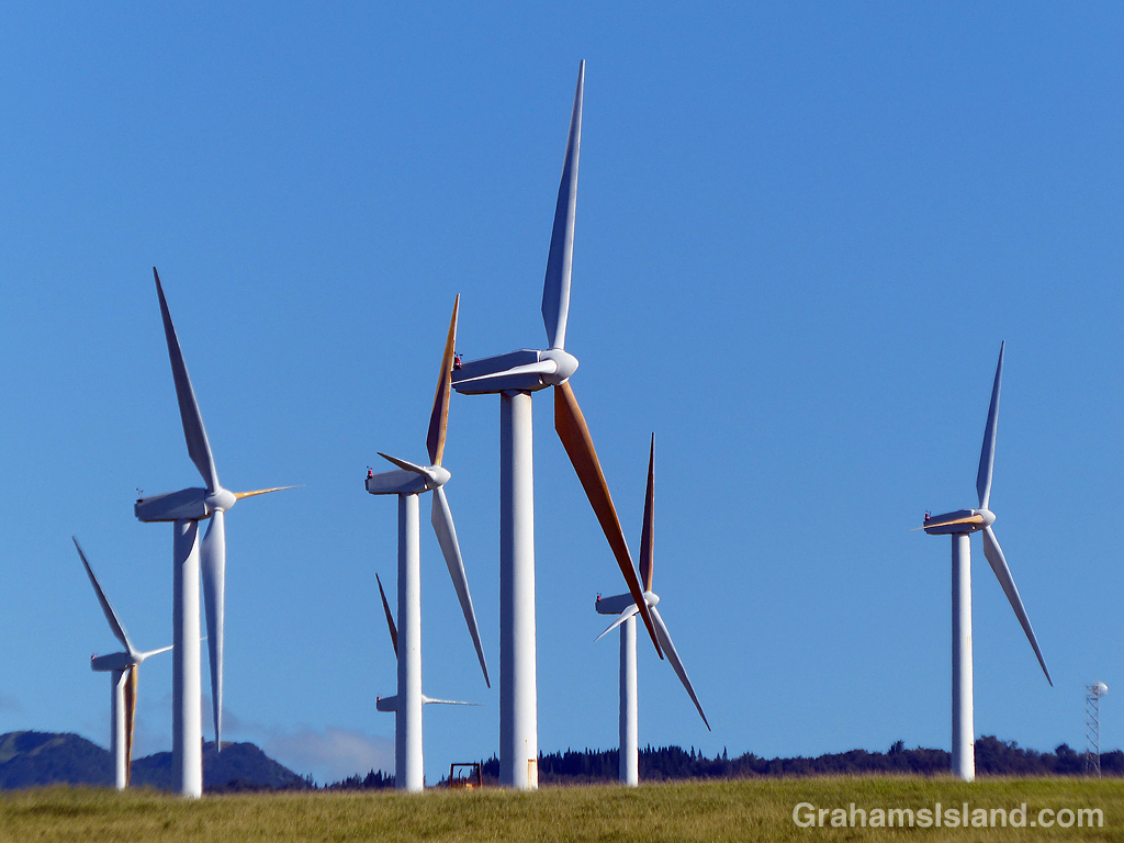 Wind turbines Hawi