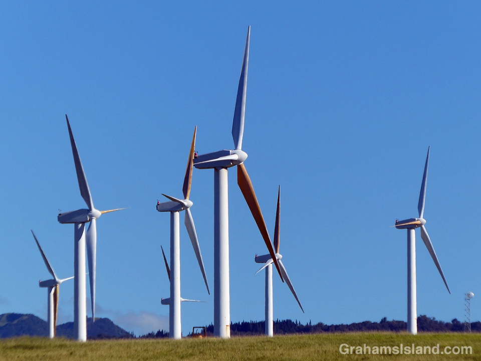 Wind turbines Hawi