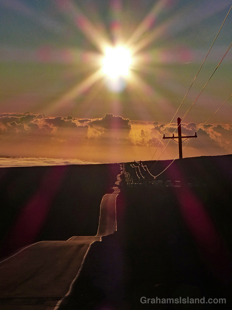 Mauna Loa Observatory access road