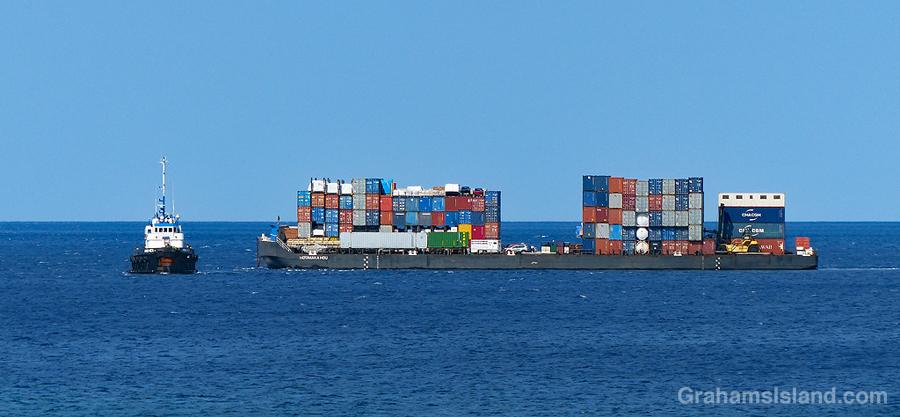 Tug and barge 2
