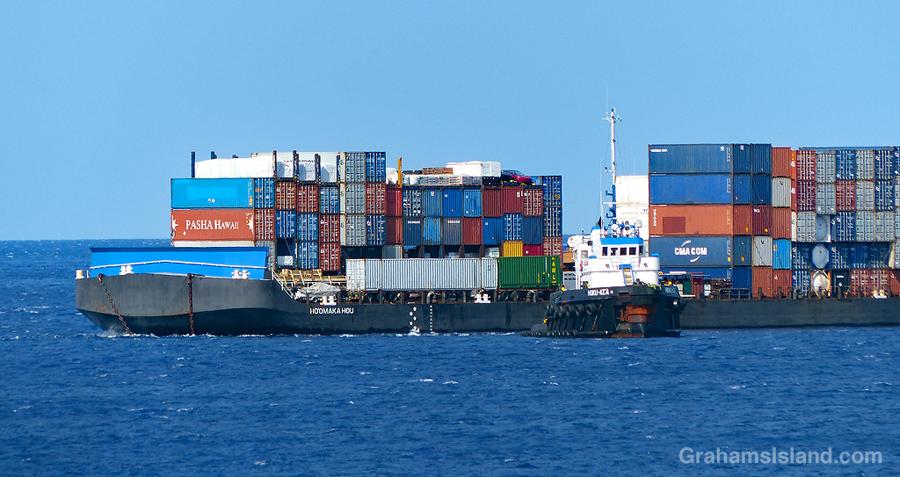 Tug and barge 3