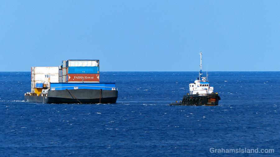 Tug and barge 4