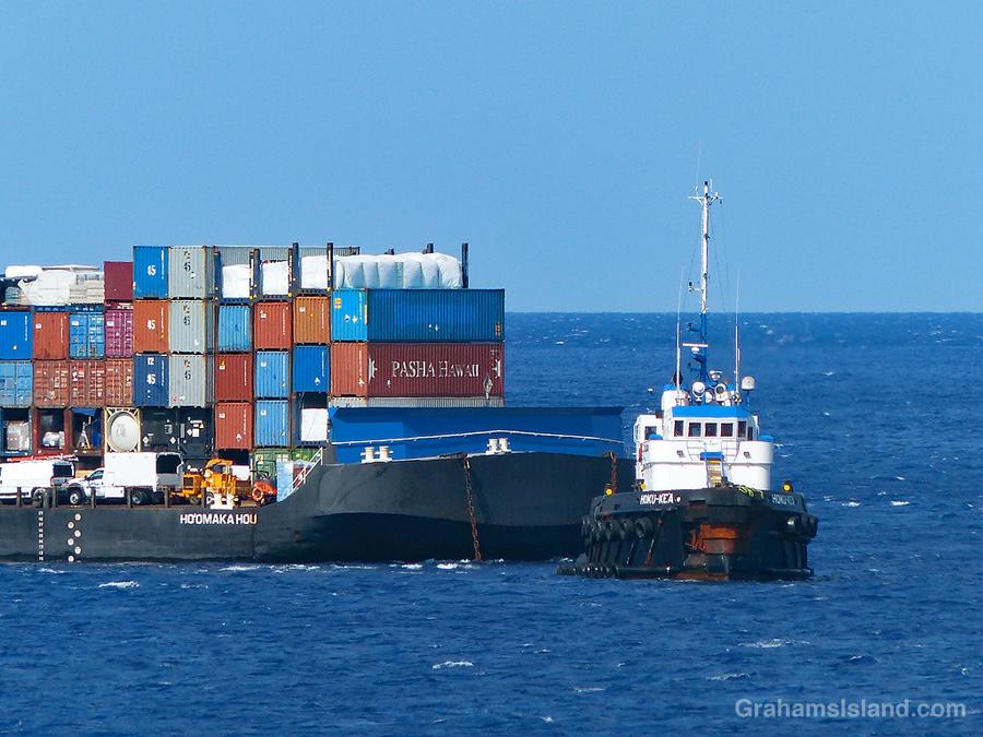 Tug and barge 5