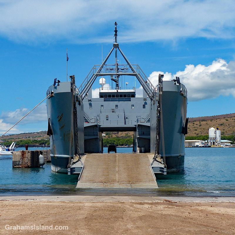 Army LSV supply ship