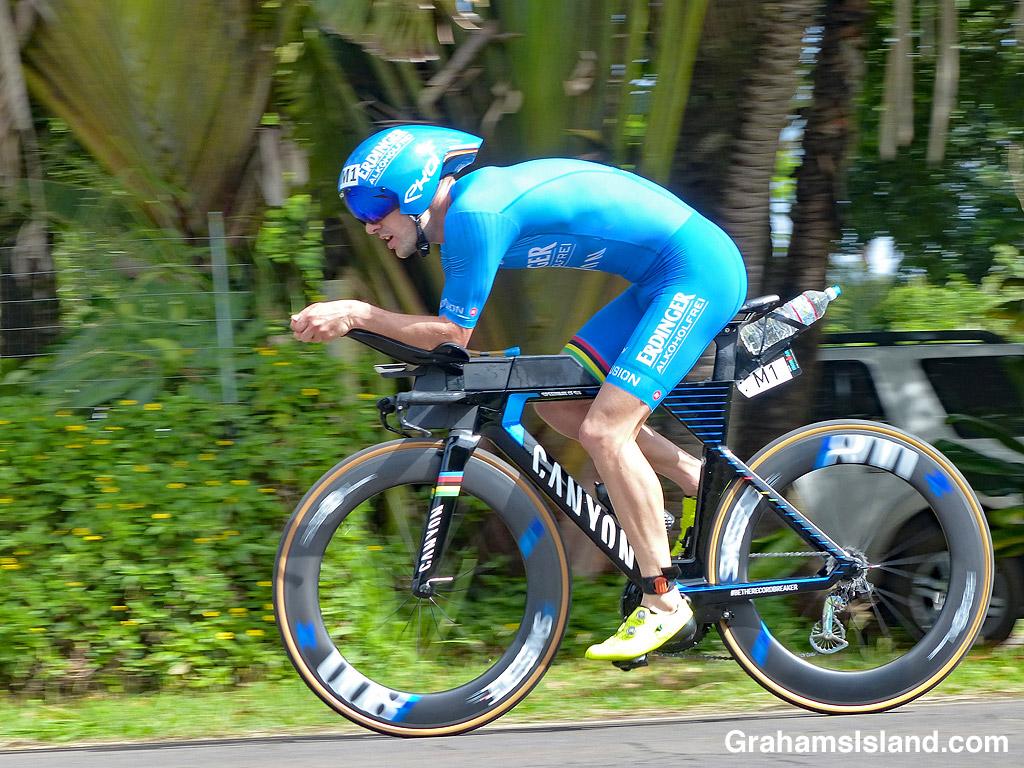Ironman winner Patrick Lange