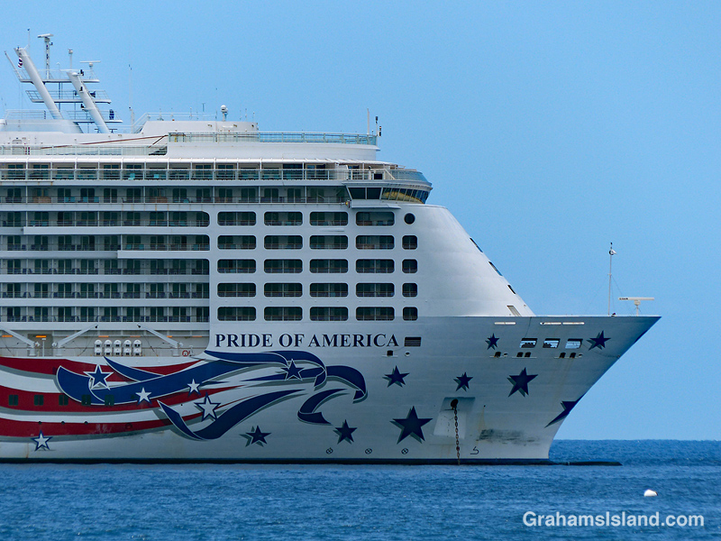 Cruise ship Pride Of America
