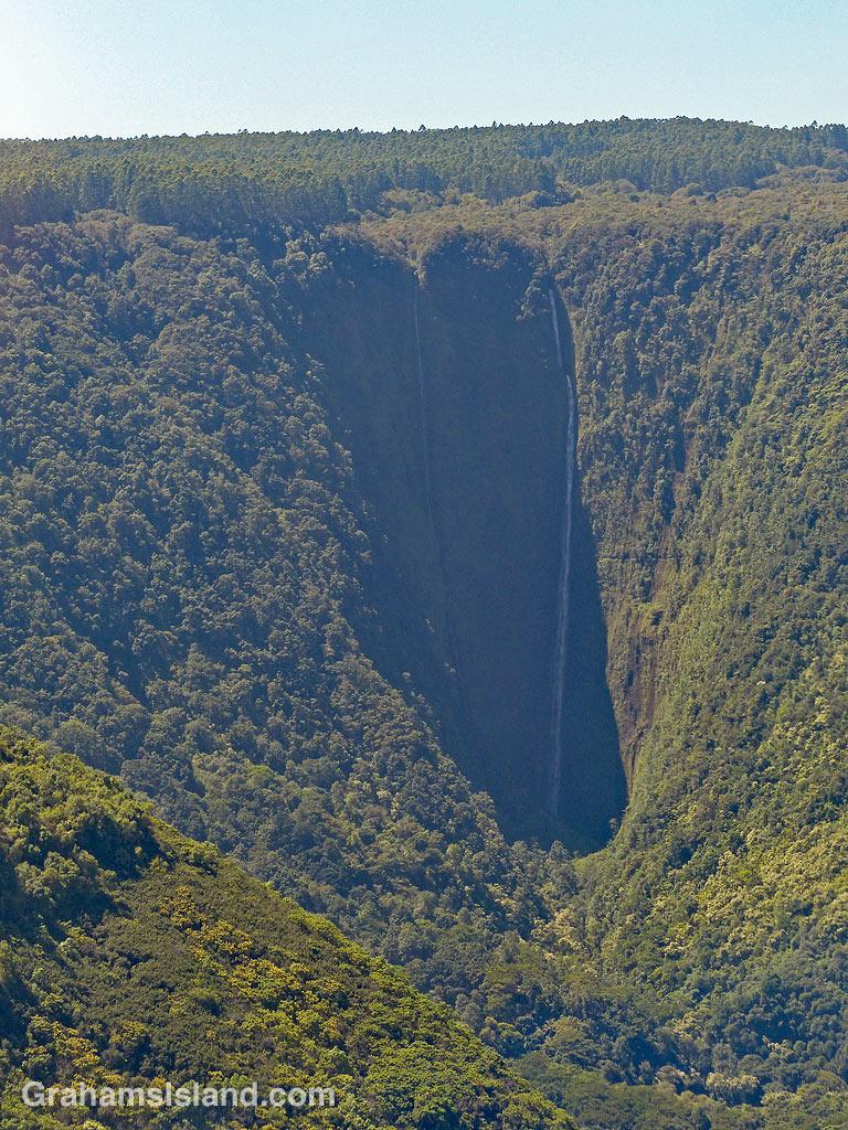 Waipio Hi'ilawe Falls