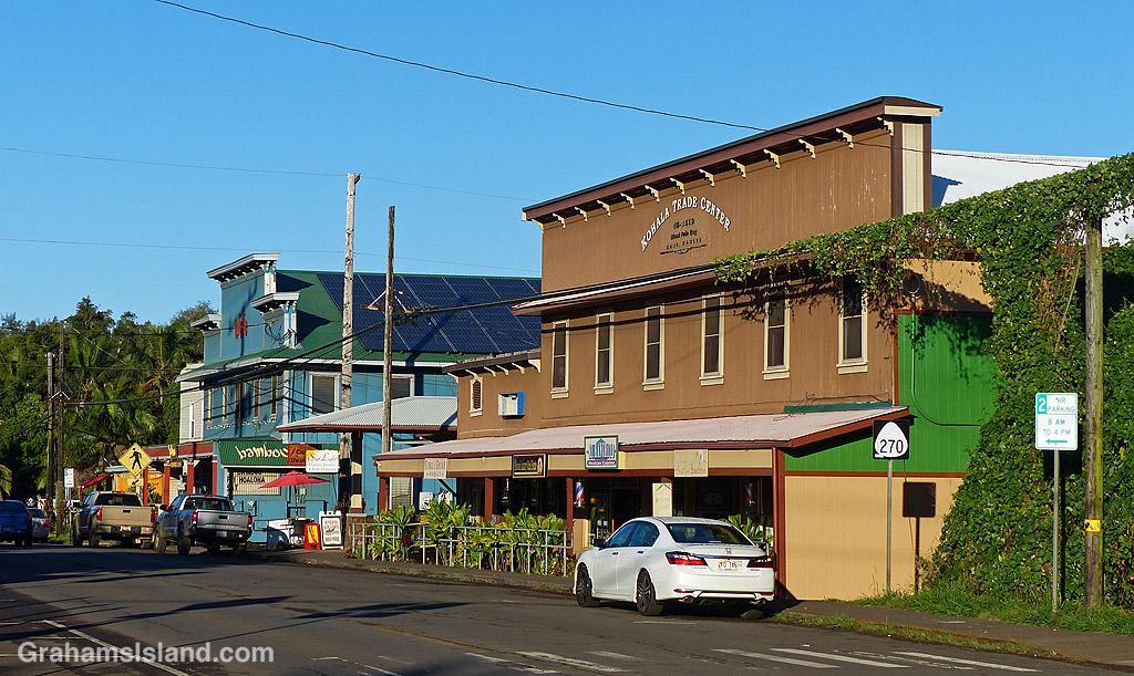 Downtown Hawi