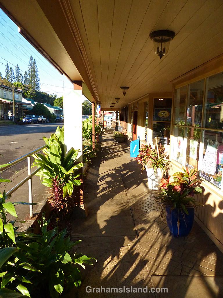 Hawi shops