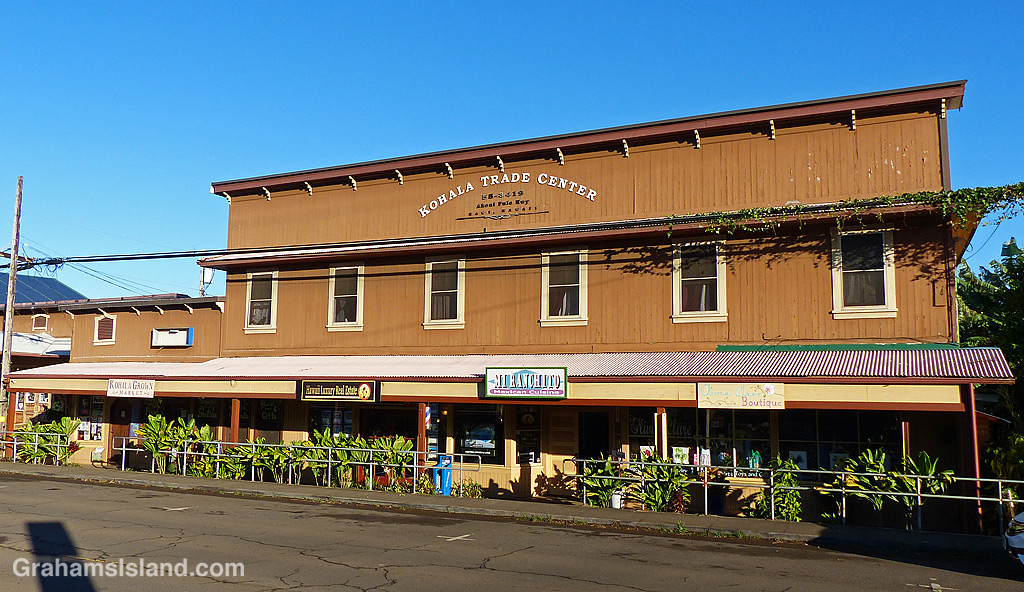 Kohala Trade Center Hawi