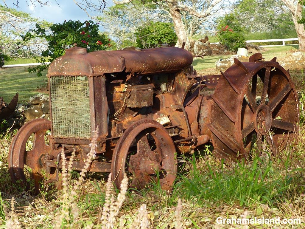 better days-old tractor