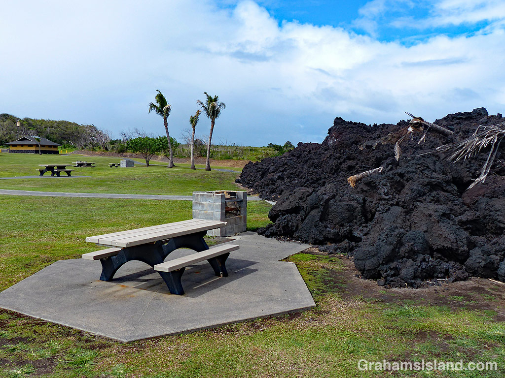 Pohoiki picnic area