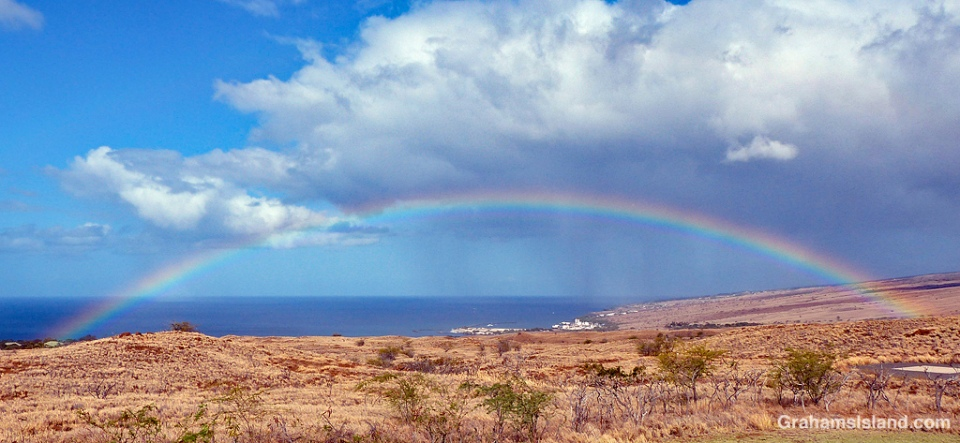Rainbow over Kawaihae