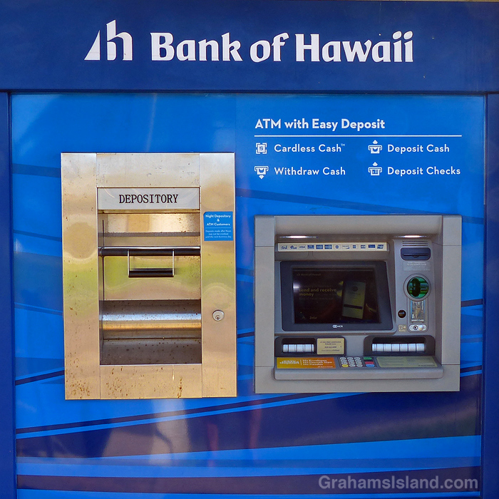 A Bank of Hawaii ATM