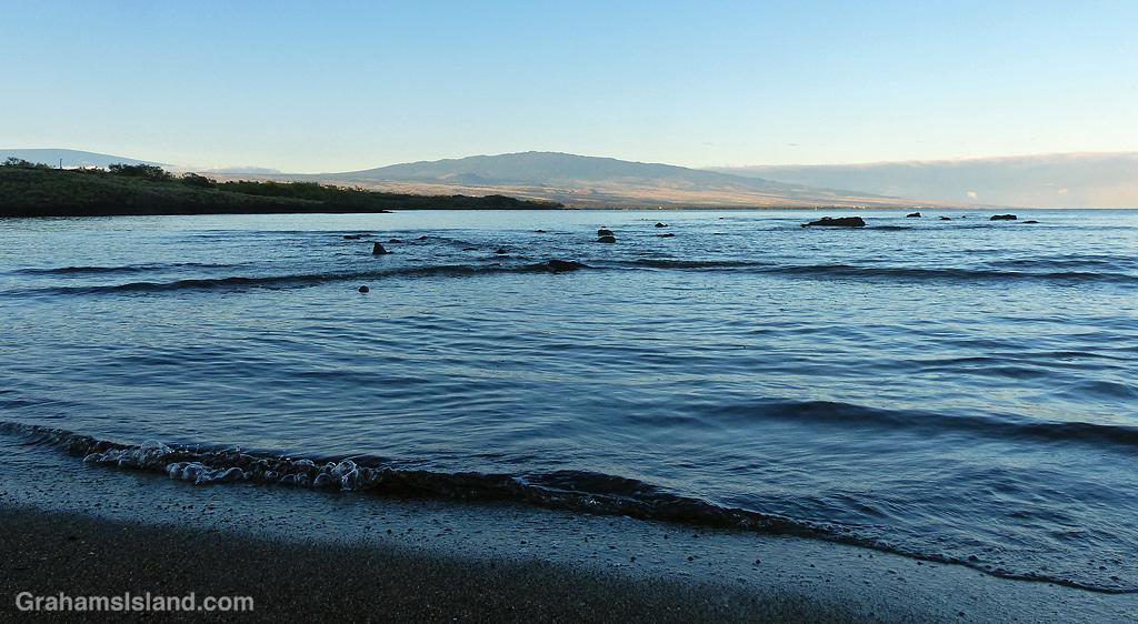 A view of Hualalai from Kawaihae