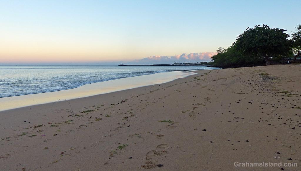 The beach at Spencer Beach Park, Hawaii